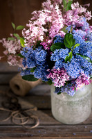 Ceanothus and Syringa bouquet